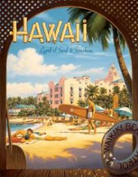 1161 Hawaii Tin Sign
