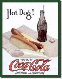 1302 Coca Cola Tin Sign