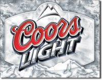 1310 Coors Light Tin Sign