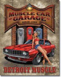 1568 Muscle Car Tin Sign