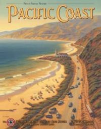 1571 Pacific Coast Tin Sign