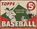1643 Baseball 5c Tin Sign