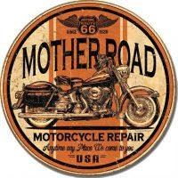 1697 Motherroad Tin Sign