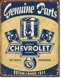 1722 Chevrolet Tin Sign