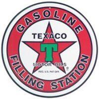 205 Texaco Tin Sign