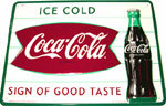 Coca-Cola Sign Of Good Taste Reproduction Sign