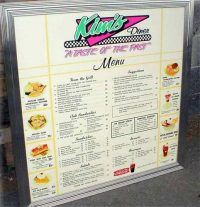 Custom Menu Board