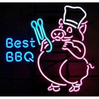 Best BBQ Pig Neon Sign