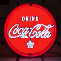 Coca-Cola Fishtail Neon Sign