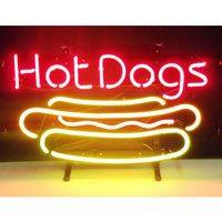 Hot Dog Neon Sign