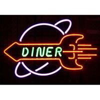 Rocket Diner Neon Sign