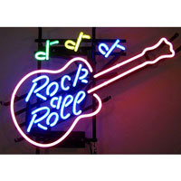 Rock & Roll Neon Sign