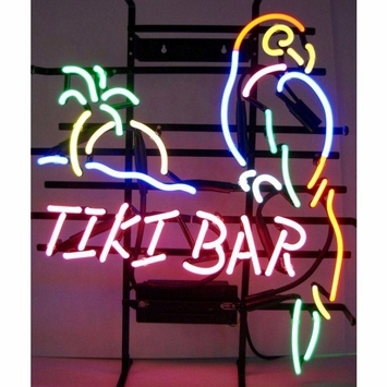 Tiki Bar Parrot Neon Sign 187 Bars Amp Booths