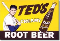 51 Root Beer Tin Sign