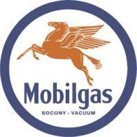 610 Mobil Gas Tin Sign