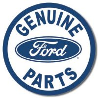 791 Genuine Ford Parts Tin Sign