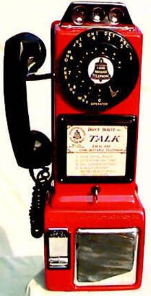 Original Vintage Pay Phones 187 Bars Amp Booths