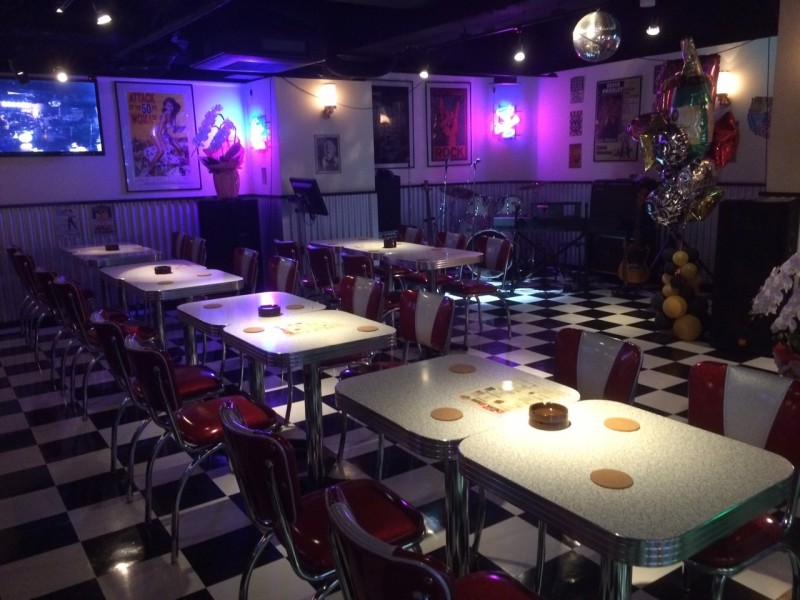 Grease Diner Kyoto City 187 Bars Amp Booths