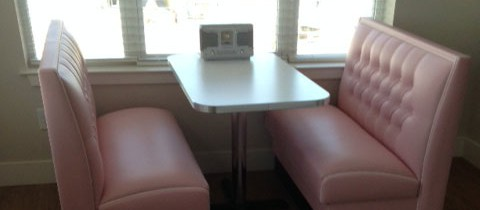 Joyce's Diner Booth