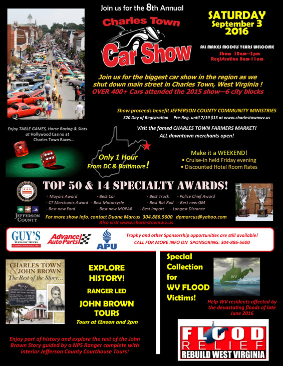 Labor-Day-Charles-Town-WV-Car-Show