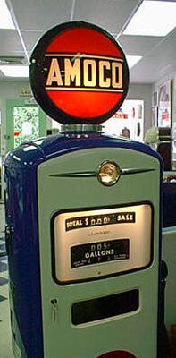 Amoco Gas Pump