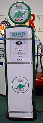 Dino Sinclair Gas Pump