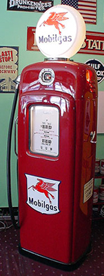 Mobilgas Gas Pump