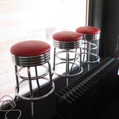 B1T3 Barstools Red