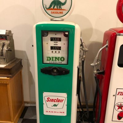 Gas Pump - Sinclair Dino